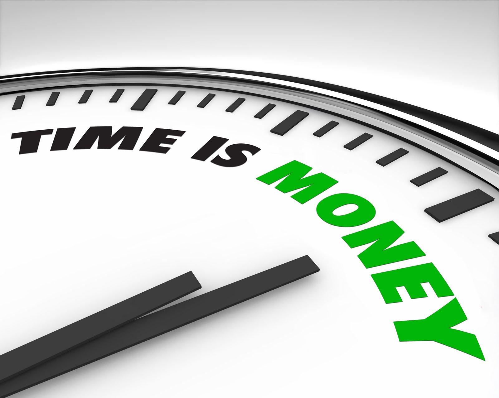 tempo e dinheiro importacao