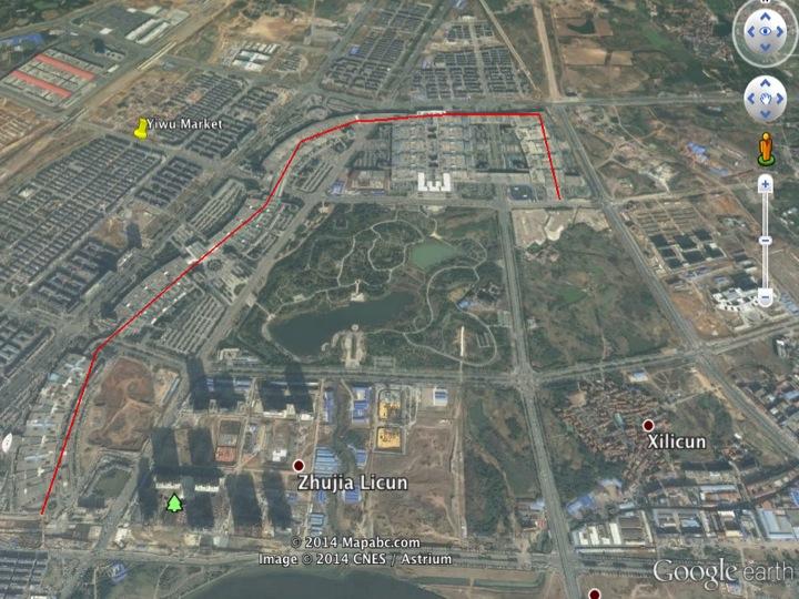Extensão do Futien Market é mais que 3km