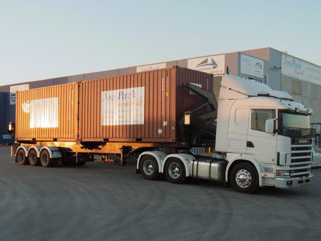 retirada container do porto 2