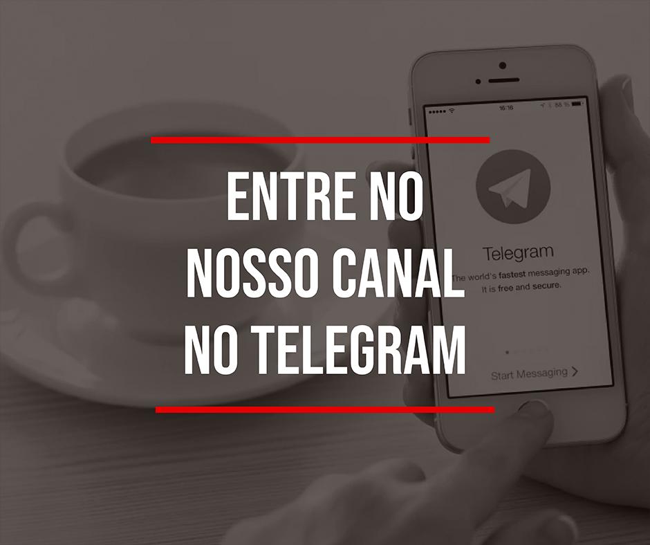 importação da china canal no telegram
